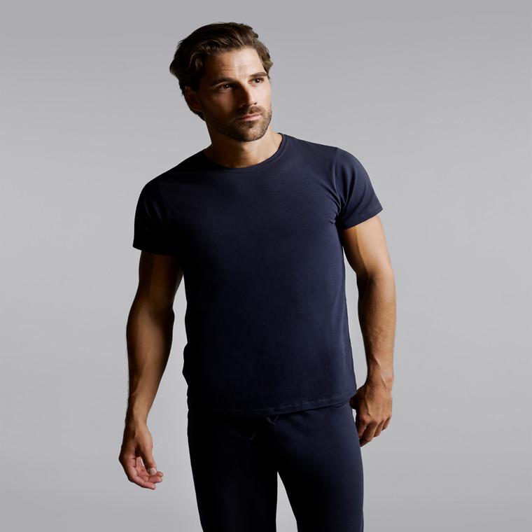 Hästens nattøj kortærmet t-shirt navy