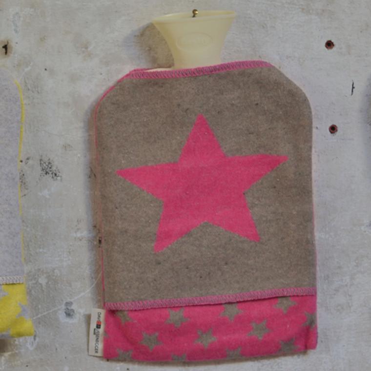David Fussenegger varmedunk Star pink. Fv. 12
