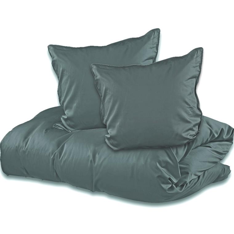 Sopire bambus sengetøj til dobbeltdyne mørk grå 240x220