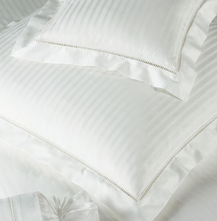 White House Elegante hvid luksus sengetøj 140x200