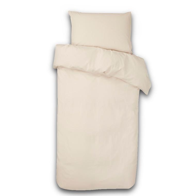 Ægyptisk bomuld sengetøj elfenben 140x220