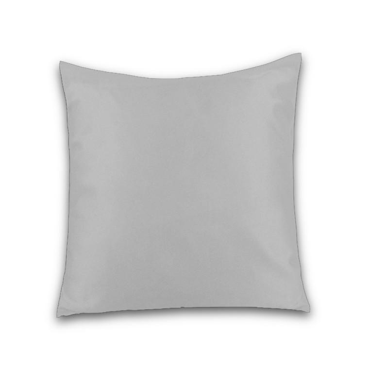 Orkydea Basic Jersey hovedpudebetræk grå 65x65