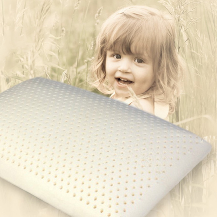 Børnehovedpude latex lav