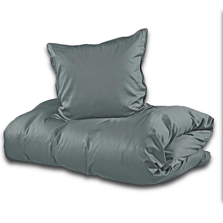 Sopire bambus sengetøj mørk grå 140x220
