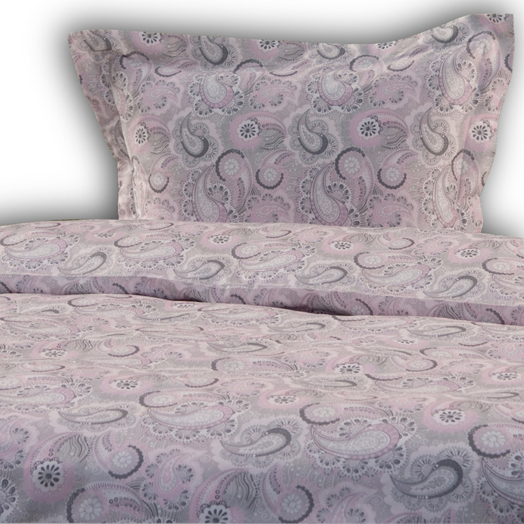Normandie Rosa excellent bomuldssatin sengetøj 140x220