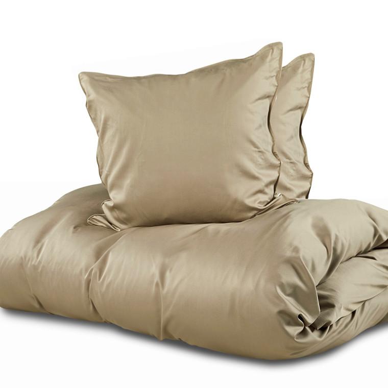 Sopire bambus sengetøj til dobbeltdyne oliven 240x220