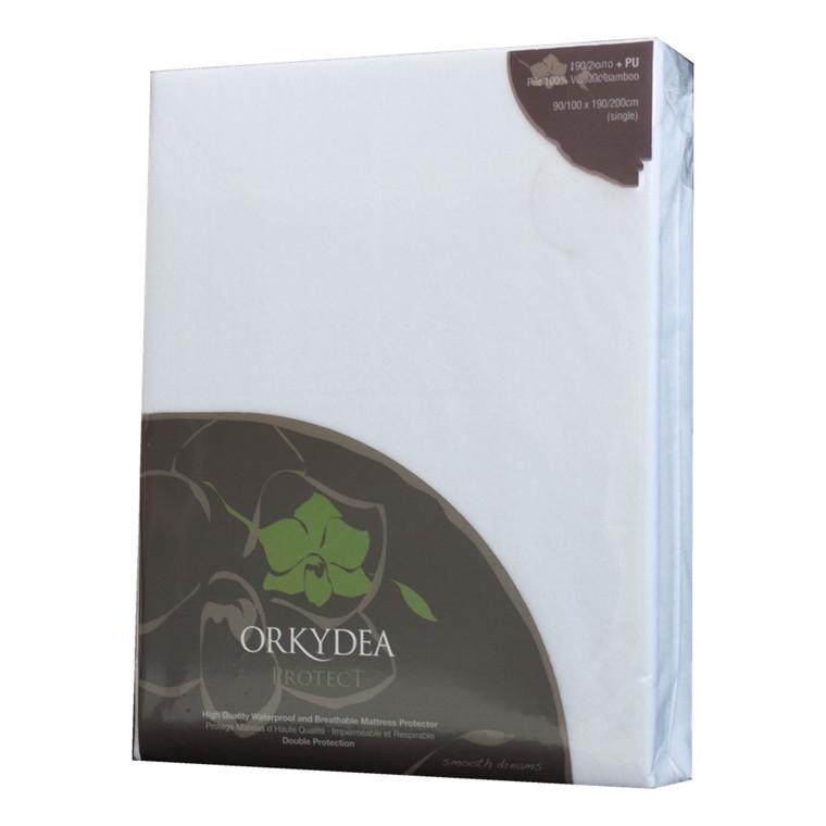 Orkydea madrasbeskytter-svedlagen med jersey 140x200x25