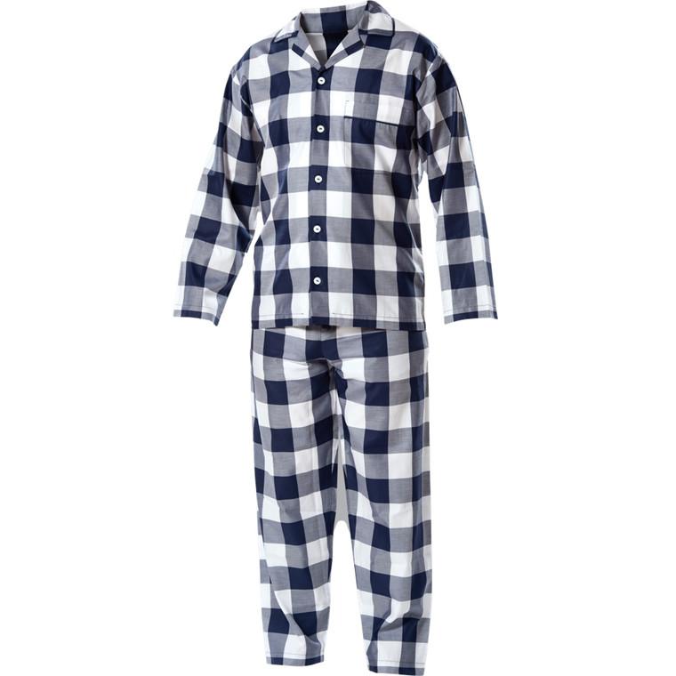 Hästens blåternet pyjamas voksen NY MODEL
