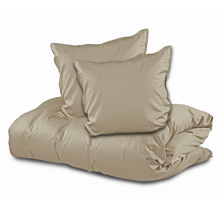 Sopire bambus sengetøj til dobbeltdyne sand 200x220