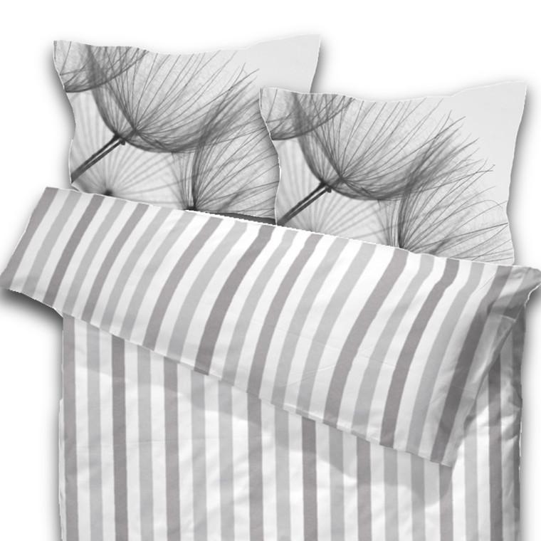 Strå natur sengetøj bomuld til dobbeltdyne 200x200