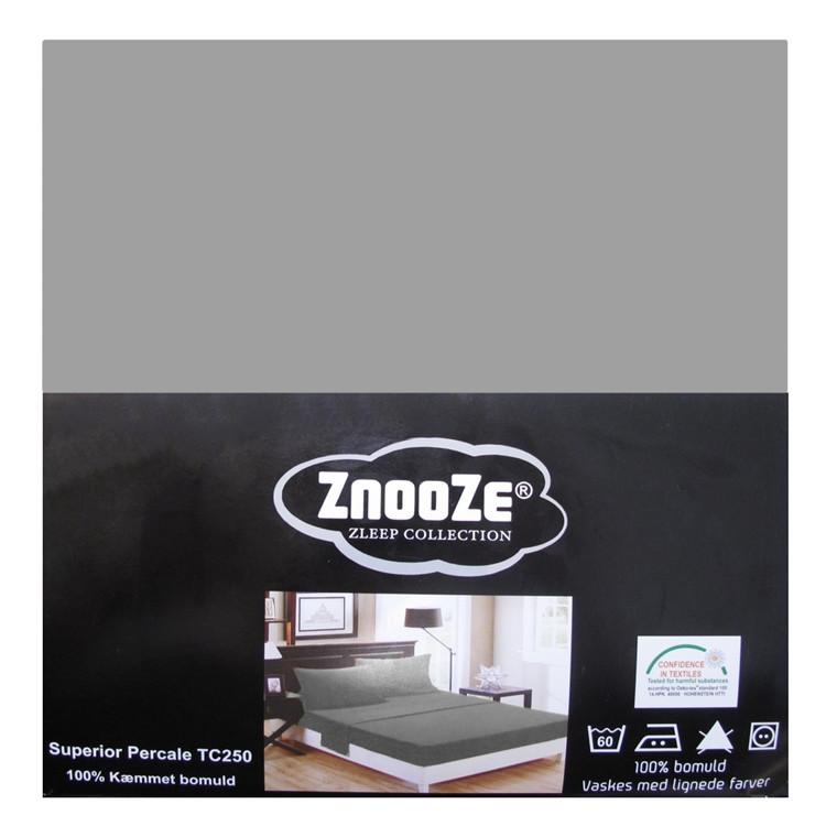 Znooze Superior facon lagen 90x200x35 lysgrå