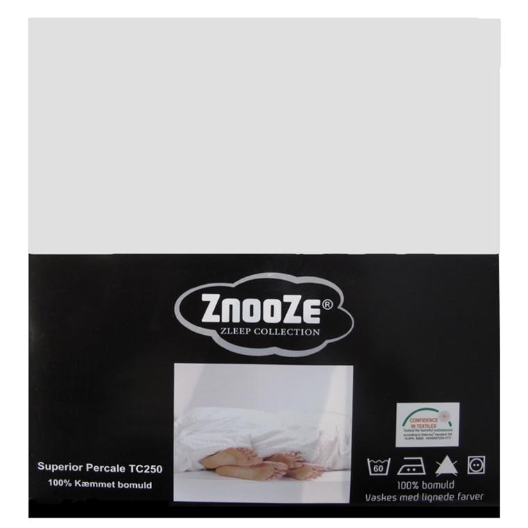 Znooze Superior facon lagen 210x210x35 brækket hvid