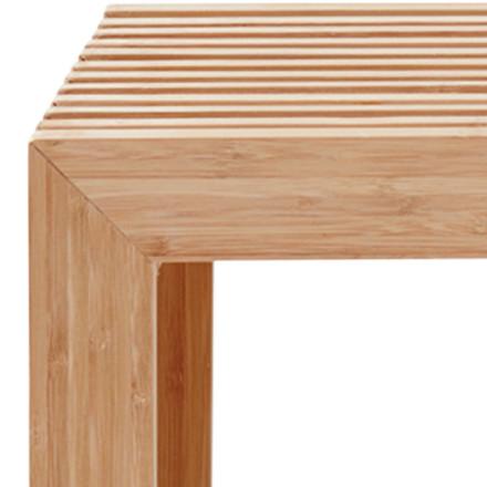 Drabina tremme bænk bambus 104x35x43