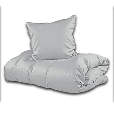 Sopire bambus sengetøj lys grå 140x200