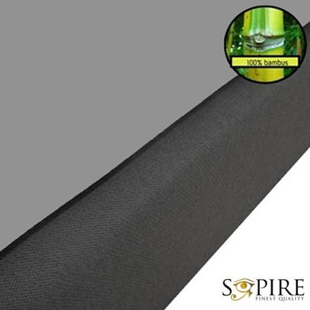 SOPIRE Bambus faconlagen grå 90x200