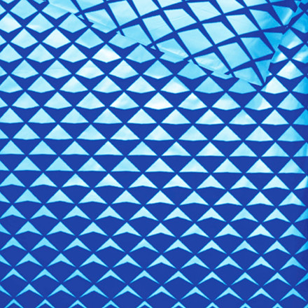 Mads bomuldssatin sengetøj til dobbeltdyne blå 200x200