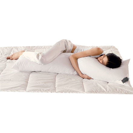 Johan Hefel side-sleep-pillow 160x35 incl 2  bomulds betræk