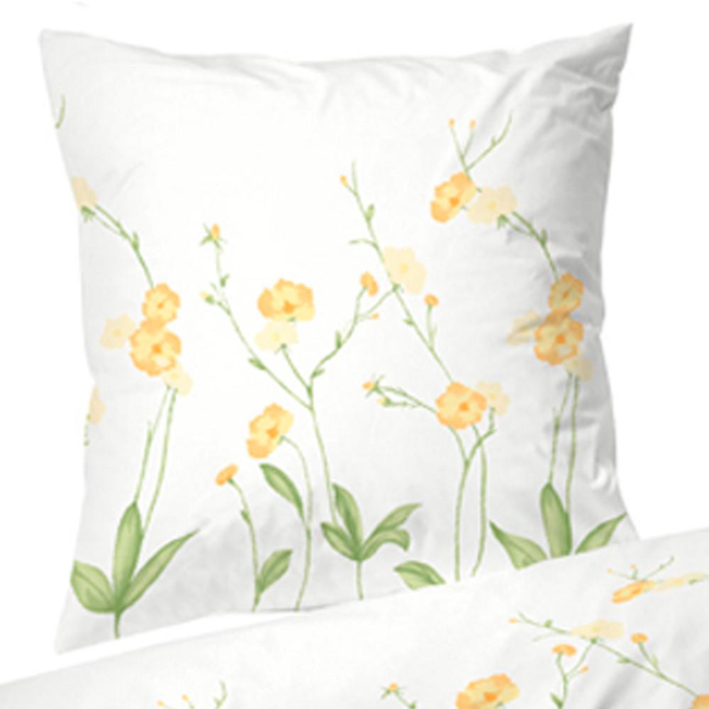 sengetøj blomster Markblomst bomuldssatin sengetøj 140x220 sengetøj blomster