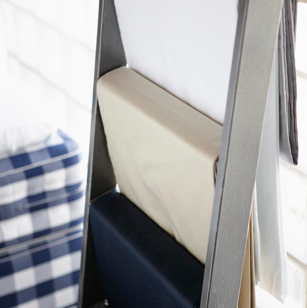 h stens satin pure lagen 180x200 hvid. Black Bedroom Furniture Sets. Home Design Ideas