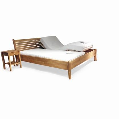 senge madrasser Savana seng med Combimat madrasser 180x200 med elevation senge madrasser