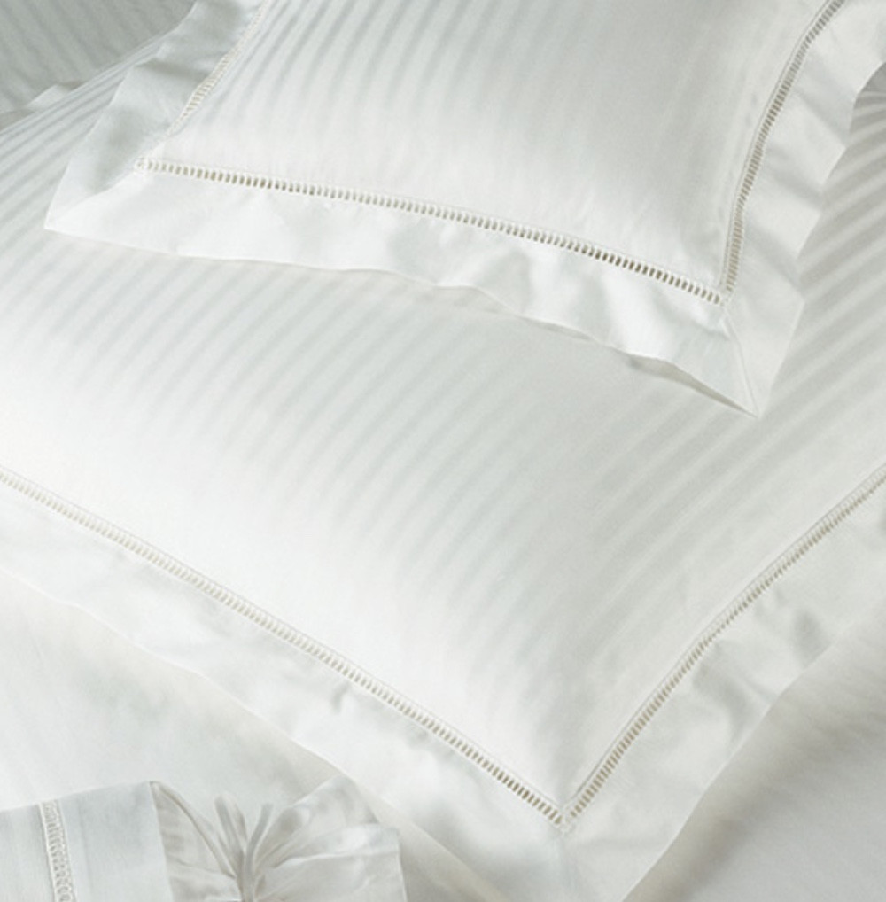 luksus sengetøj White House Elegante hvid luksus sengetøj 140x200 luksus sengetøj