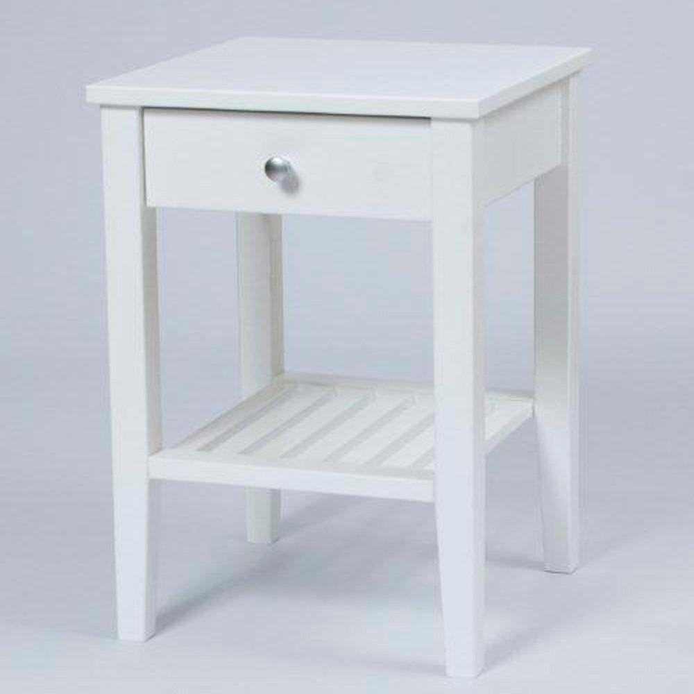 senge bord Kobra sengebord hvid, køb hvide natborde online her senge bord