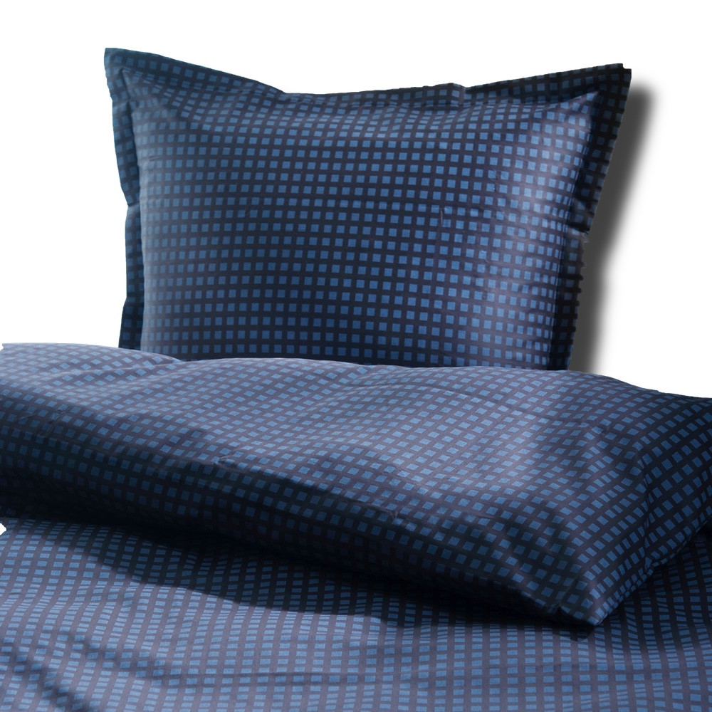 sengetøj Oscar grå sengetøj i 100% bomuldssatin 140x200 sengetøj