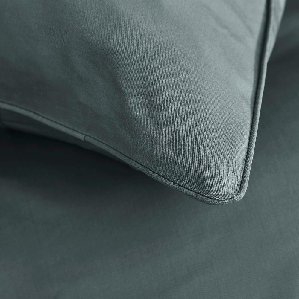 bambus sengetøj Sopire bambus sengetøj til dobbeltdyne mørk grå 200x220 bambus sengetøj