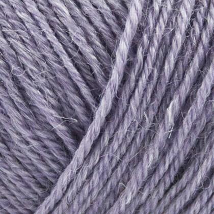 Nettle Sock Yarn, lys lilla