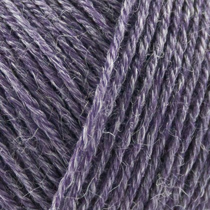 Nettle Sock Yarn, mørk lila