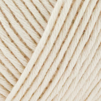 Fino Organic Cotton + Merino Wool, råhvid