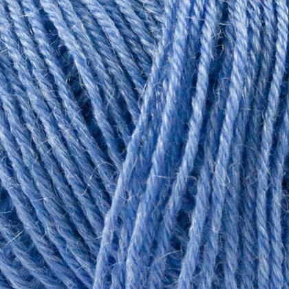 Nettle Sock Yarn, himmelblå