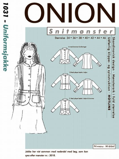 Snitmønster, Uniformsjakke