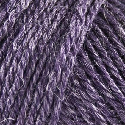 No.3 Organic Wool+Nettles, mørk lilla