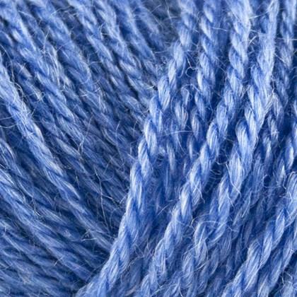 No.3 Organic Wool+Nettles, himmelblå