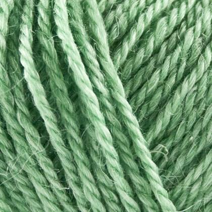 No.3 Organic Wool+Nettles, lys grøn