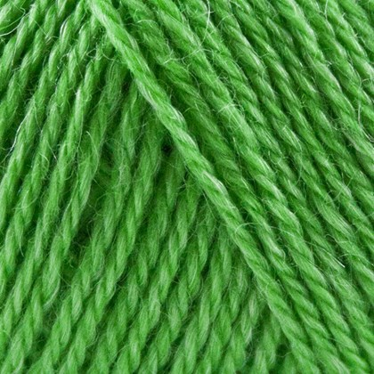 No.3 Organic Wool+Nettles, græsgrøn