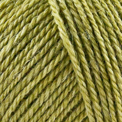 No.3 Organic Wool+Nettles, olivengrøn
