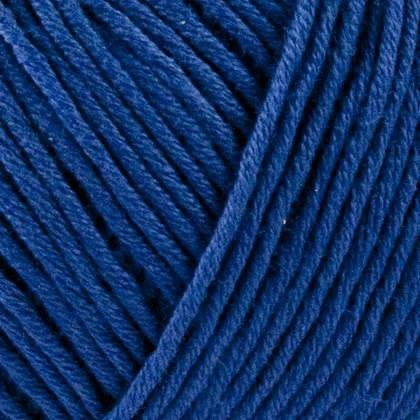 Organic Cotton, blå kobolt