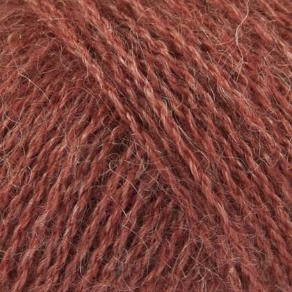 Alpaca+Merino Wool+Nettles, marsala