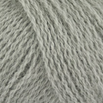 Alpaca+Merino Wool+Nettles, lys grå