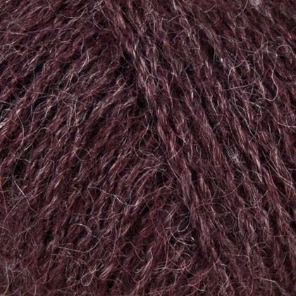 Alpaca+Merino Wool+Nettles, sort oliven