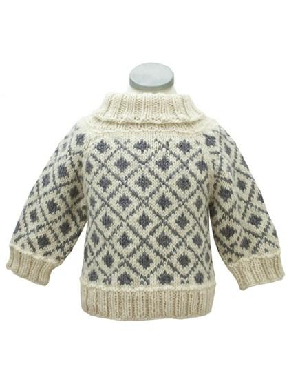 Nordisk børnesweater (børn)
