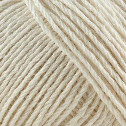 Organic Cotton+Nettles+Wool, råhvid