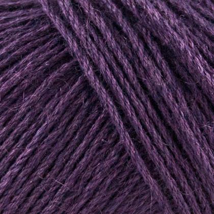 Organic Cotton+Nettles+Wool, mørk lilla