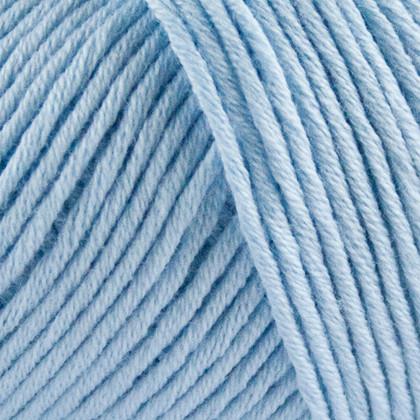 Organic Cotton, lys blå