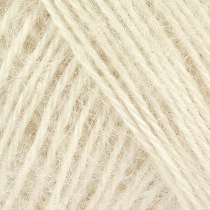 Mohair+Nettles+Wool, råhvid