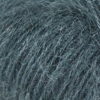 Mohair+Nettles+Wool, mørk grå