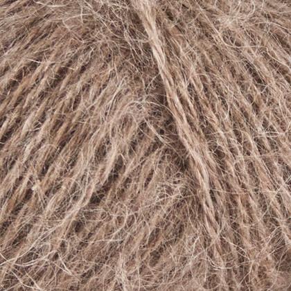 Mohair+Nettles+Wool, lys brun
