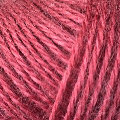 Mohair+Nettles+Wool, Marsala rød.